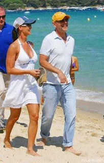 Bruce Willis et Karen Mc Dougal