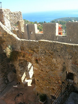 城登り中3
