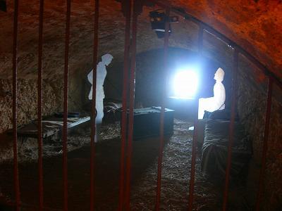 場内の牢屋