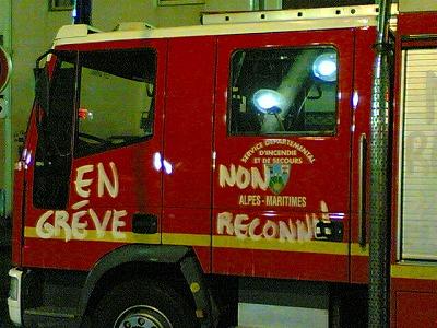 消防士のスト